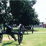 Fort Scott Kansas, home to the 2nd Kansas Battery of Light Artillery