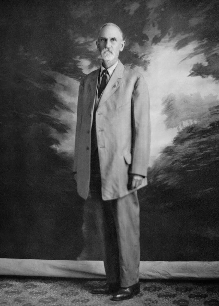 Andrew J. Foster a formal portrait taken in Seattle.