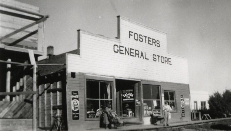 The original Foster's General Store