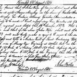 John Foster loan from Mabry